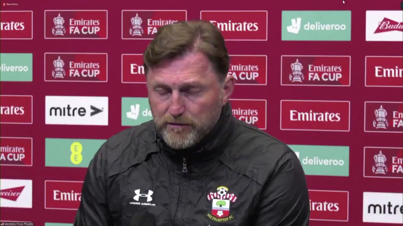 "Southampton manager Ralph Hasenhüttl on a European Super League: ""For me, this is completely unacceptable. Nobody wants it. The fans don't want it."""