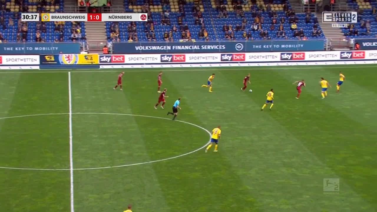 Eintracht Braunschweig 1-[1] Nürnberg - Pascal Köpke 31'