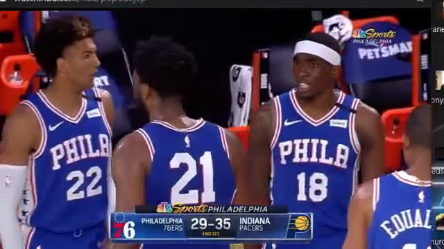 Shake Milton has some words for teammate Joel Embiid