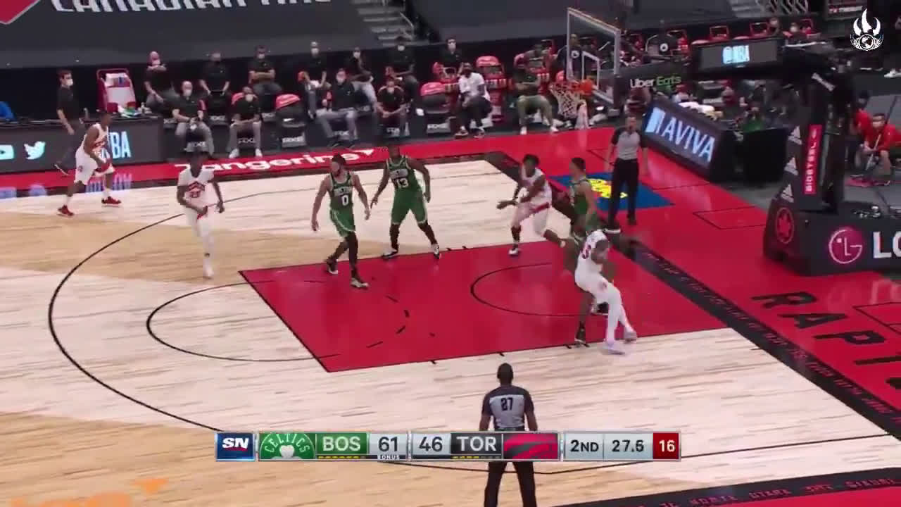 [Highlight] Pascal Siakam with a new variation of his patented spin move