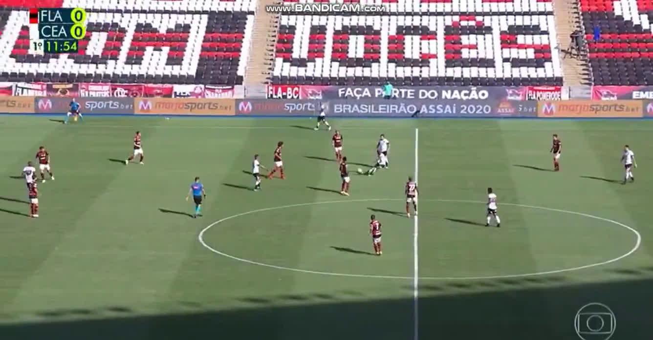 Flamengo 0 - [1] Ceará   12' Vina