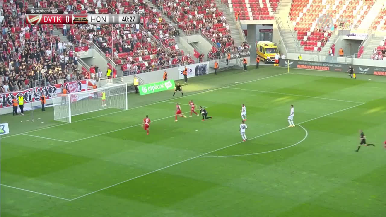 Diósgyőri VTK 0 - [2] Honvéd FC - Gazdag D. 40' - Awesome chip shot