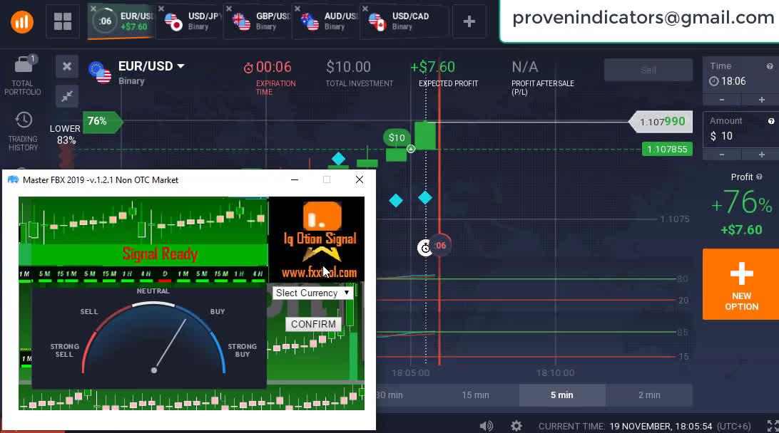 Download gratuito del miglior robot forex EA - Amarkets FX Broker