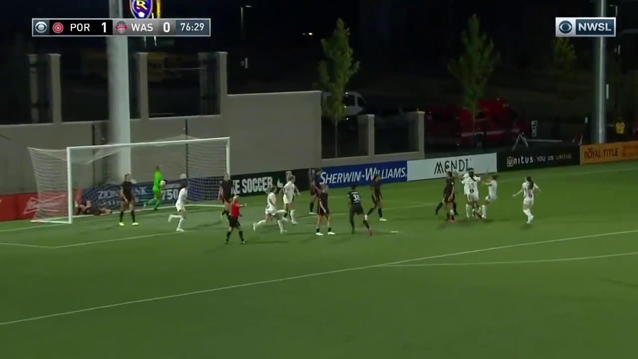 Portland Thorns FC 1-[1] Washington Spirit - Sam Staab header off a ridiculous Ashley Sanchez backheel volley assist