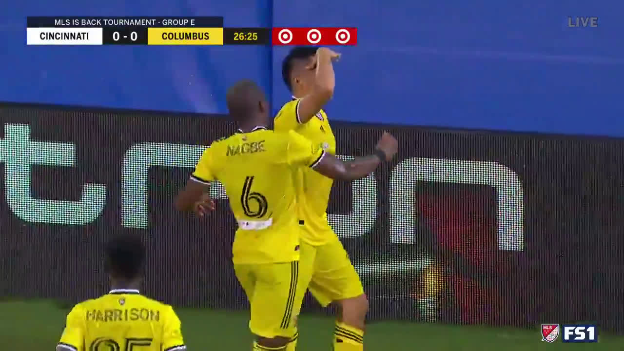 Zelarayan's spectacular free kick | Columbus [1] - 0 Cincinnati