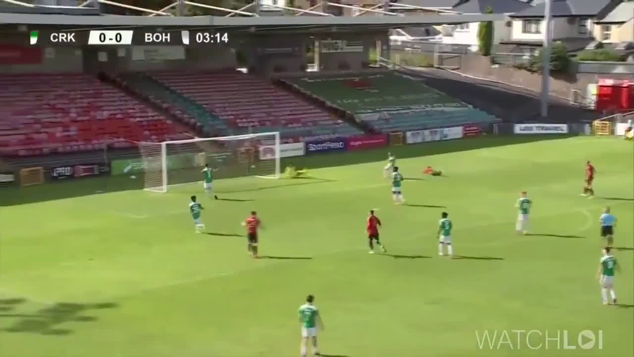 Cork City 0 - [1] Bohemians | Andre Wright 4'