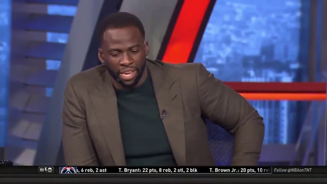 """Draymond on the battle in LA: """"I have a hard time picking against the Clippers"""""""