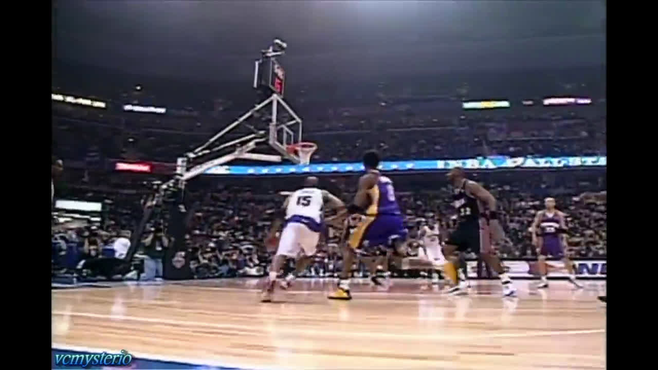 In the 2001 All-Star Game, the NBA experimented with Baseline Camera Angles. Here is a live-action VC 360.