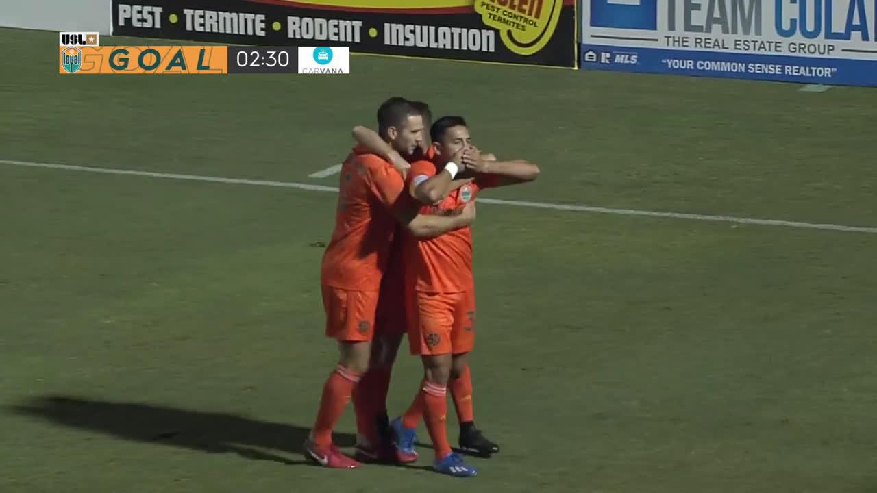 Phoenix Rising 0 - [1] San Diego Loyal - Rubio Rubin 3'