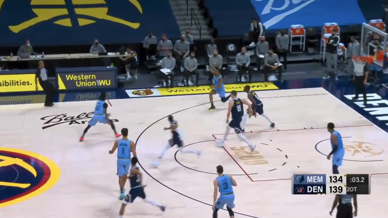 [Highlight] Melton hits the three at the Buzzer buts it's too little too late for the Grizzlies