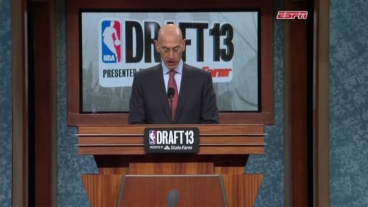 Random trade in the last minutes of the 2013 NBA draft