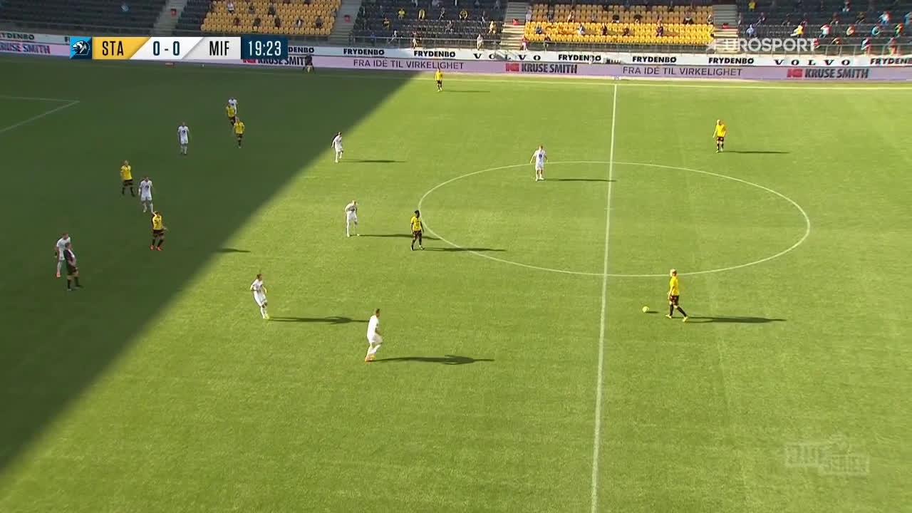 Start 1-0 Mjøndalen - Kristoffer Tønnesen 20'