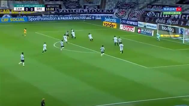 Atlético Mineiro [1] - 0 Gremio - Keno 11'