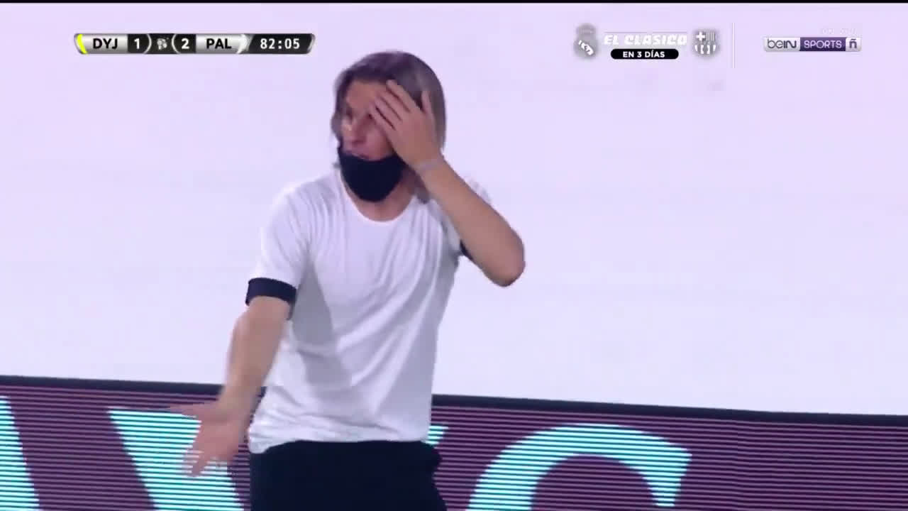Walter Bou equalizing goal disallowed against Palmeiras due to interference from Braian Romero.