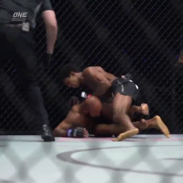 Slo-Motion footage of Adriano Moraes's Knockout of Demetrious Johnson released by ONE FC