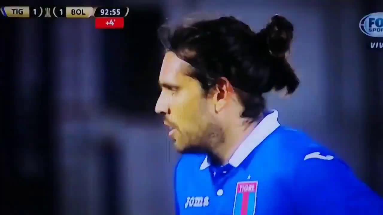 Rojas (Bolivar) 93rd minute penalty save vs Magmín (Tigre)