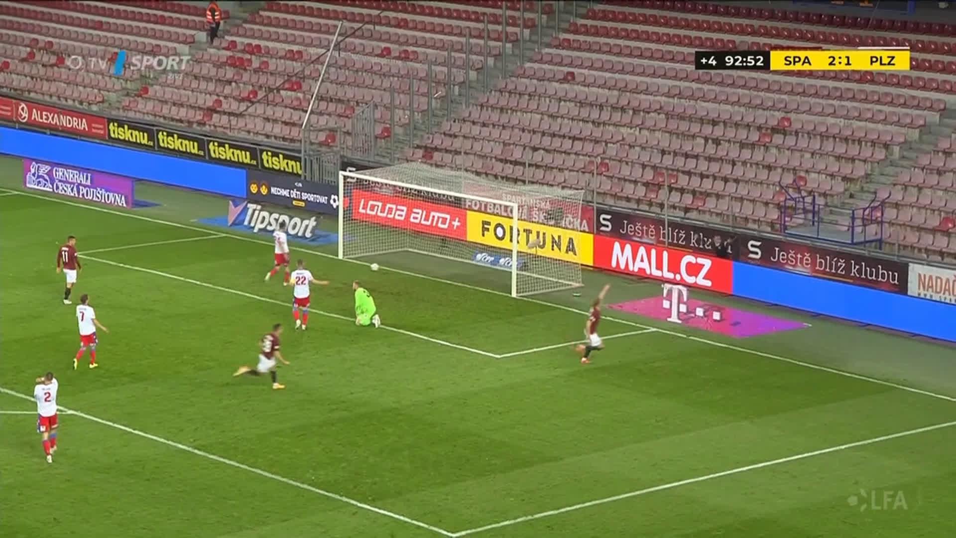 AC Sparta Prague [3] - 1 FC Viktoria Pilsen - Adam Karabec 90+3'