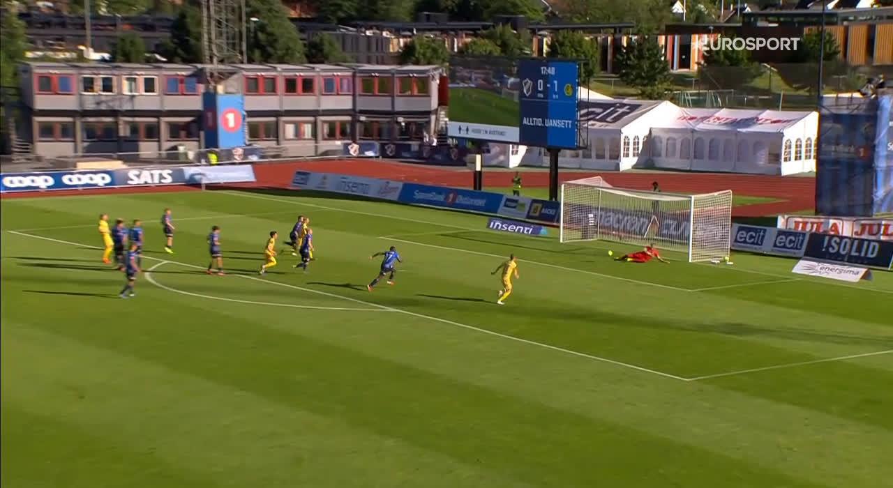 Stabæk 0-2 Bodø/Glimt - Kasper Junker 18'