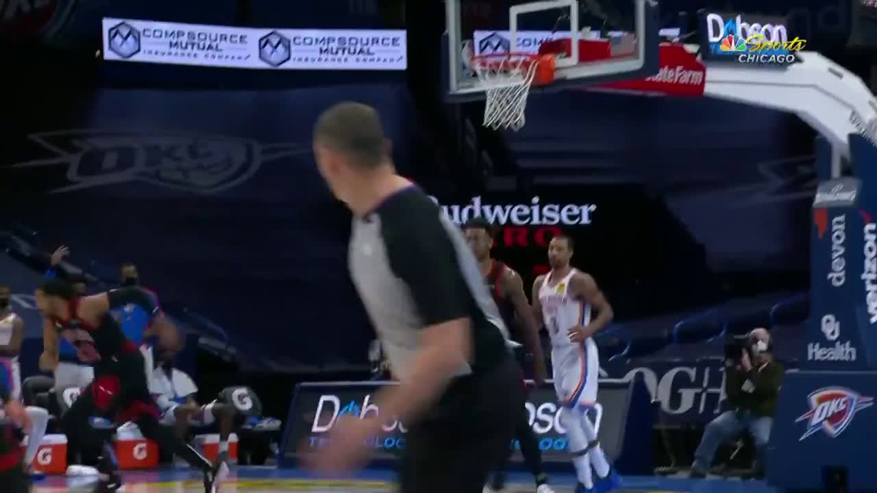[Highlight] Wendell Carter Jr. with the rare double block