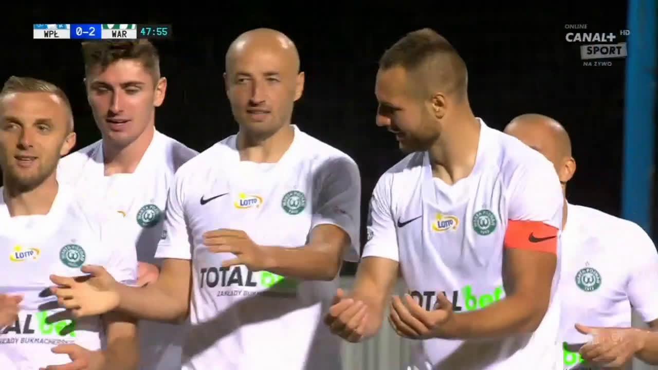 Wisła Płock 0-2 Warta Poznań - Bartosz Kieliba 48' (Polish Ekstraklasa)