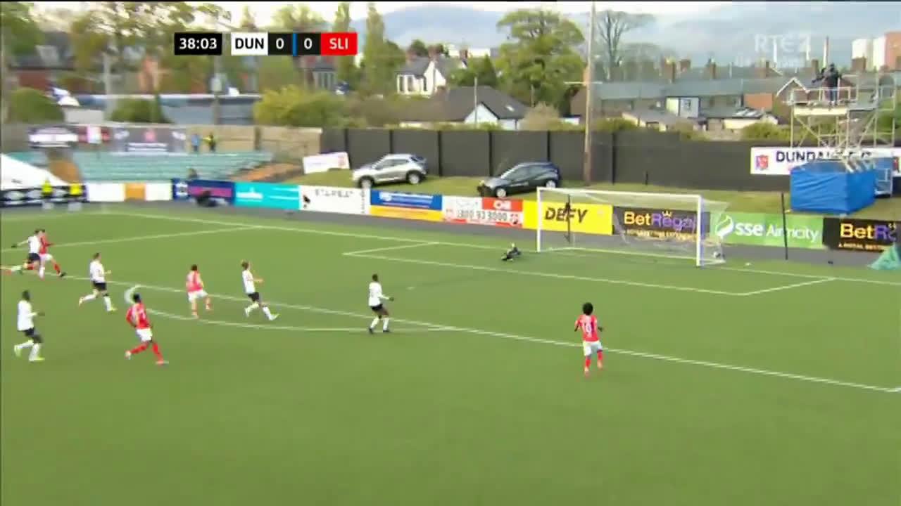 Dundalk 0-[1] Sligo Rovers - Jordan Gibson 39'