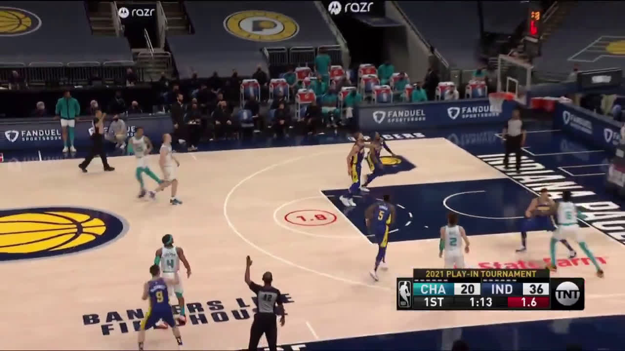 [Highlight] Devonte Graham hits it from near half court with the shot clock expiring