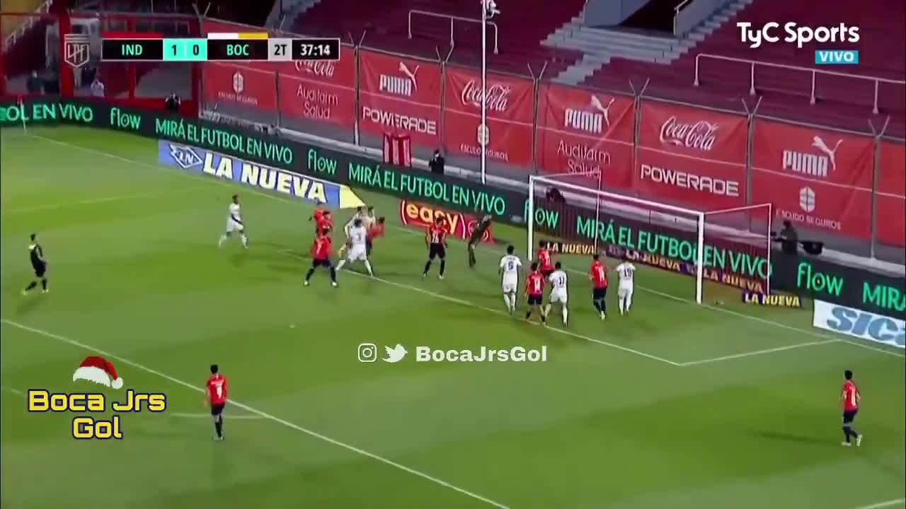 Independiente 1 - [1] Boca Juniors - Franco Soldano 82'
