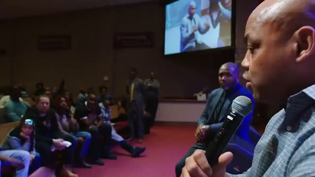 Pro-Police Charles Barkley, silenced by Baltimore Town Hall