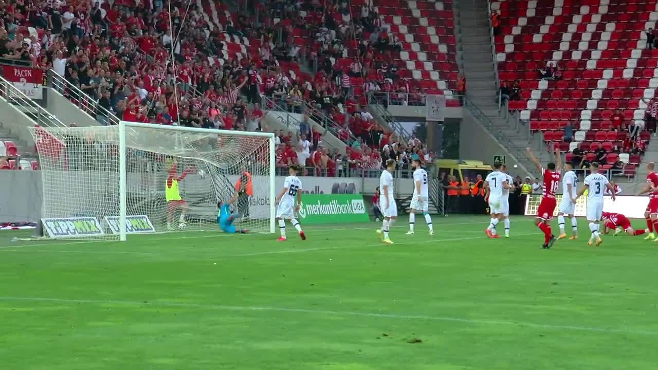 DVTK [2]-1 Nyiregyhaza - Marcell Hornyák 42' (great goal)