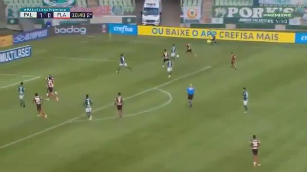 Palmeiras 1 - [1] Flamengo - Pedro 56'