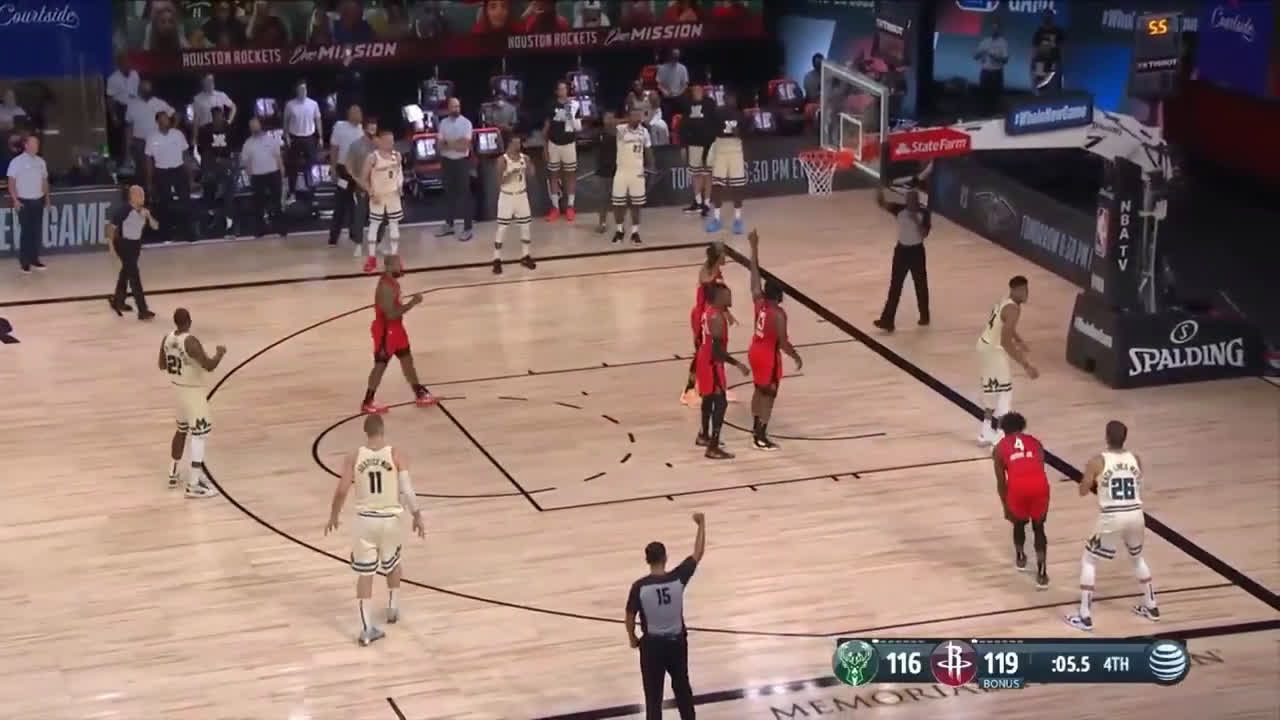 Pocket Rockets play some clutch defense against the Bucks
