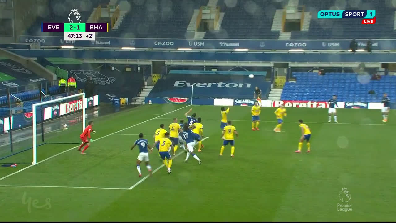 Historic Yerry Mina Goal Vs Brighton 2020 Unique Celebration Scored Assisted By Colombian James Assist Soccer Blog Football News Reviews Quizzes