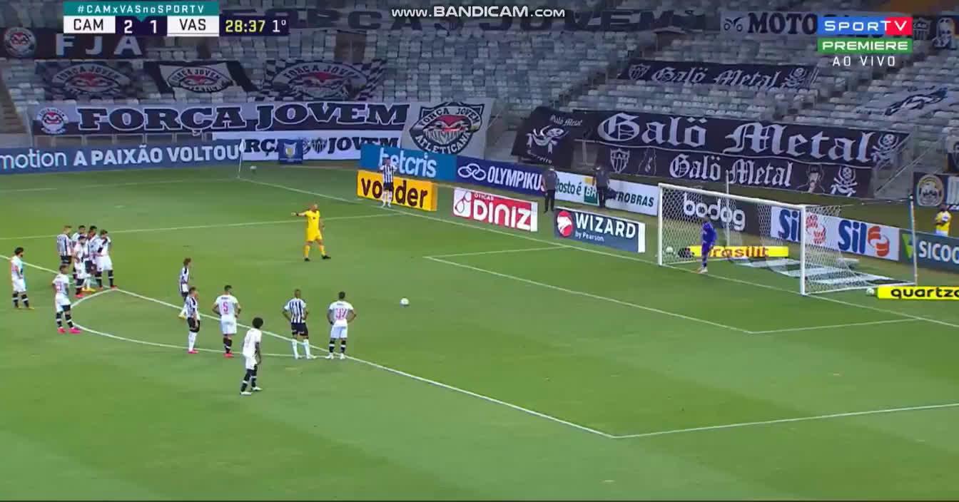 Atlético Mineiro [3] - 1 Vasco da Gama - Guga (PK + call) 29'