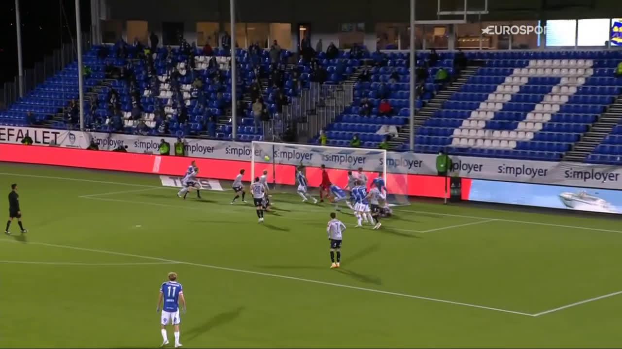 Sarpsborg 08 1-0 Viking - Bjørn Inge Utvik 54'