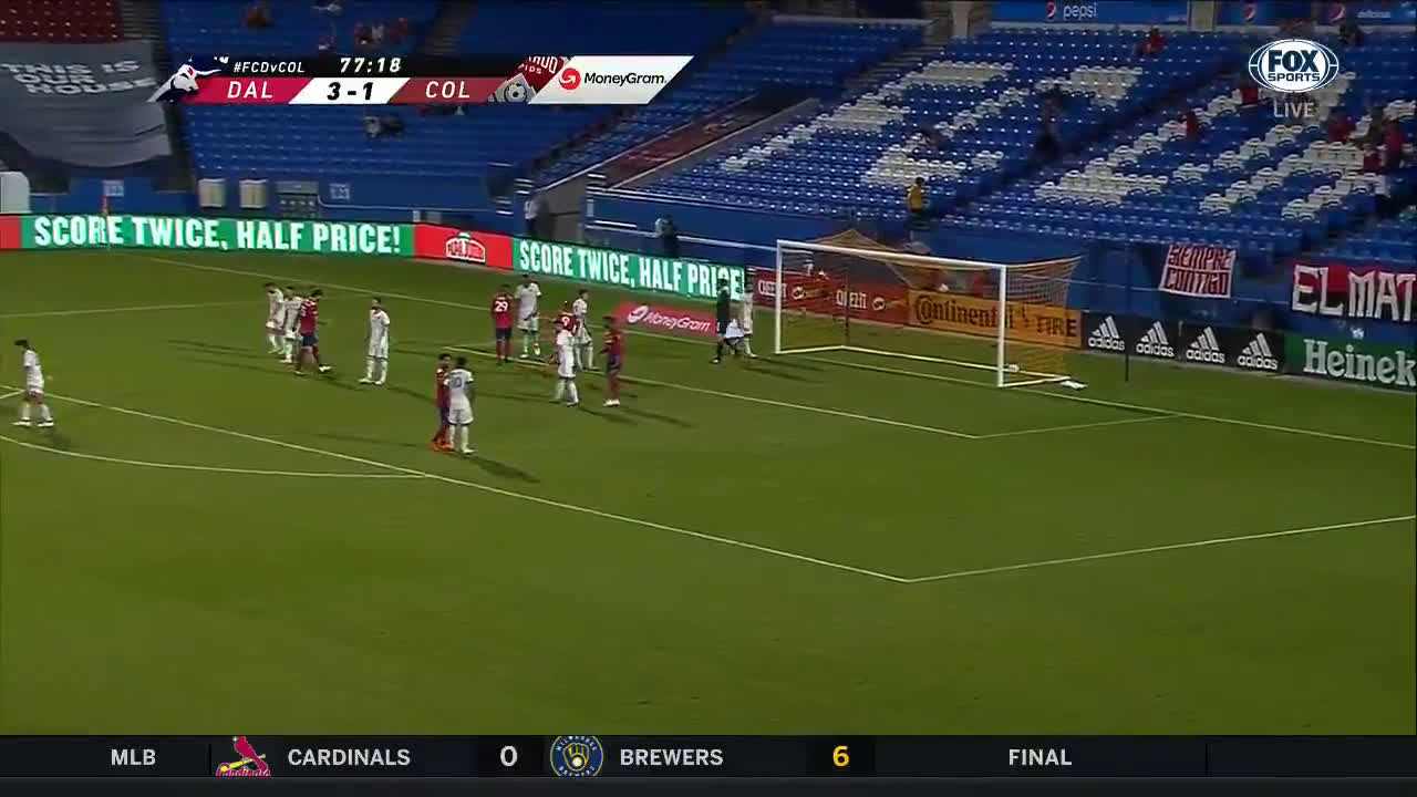 FC Dallas [4] - 1 Colorado Rapids - Santi Mosquera Hat-Trick