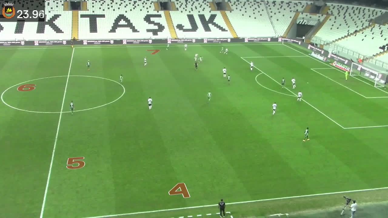 Os 12 passes entre 10 jogadores que conduziram ao golo de Bruno Moreira