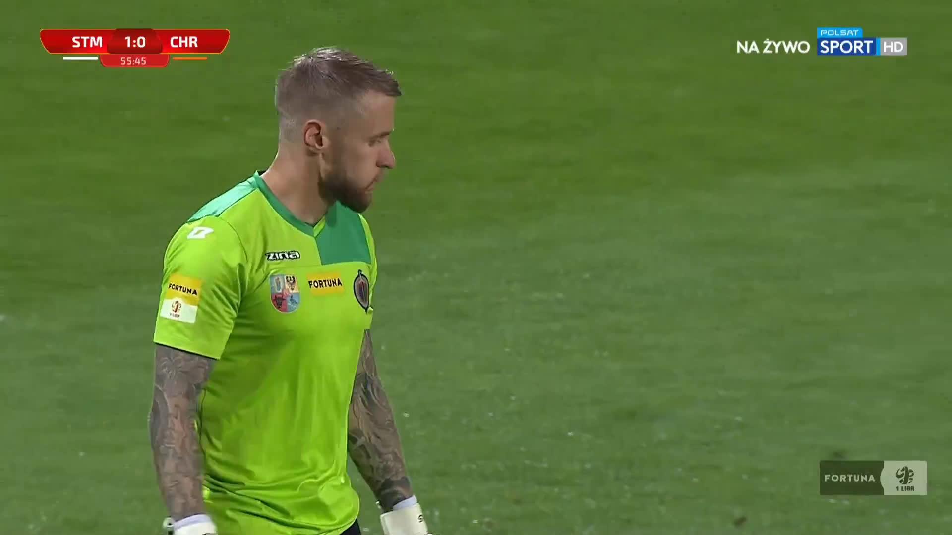 Stal Mielec 1-0 Chrobry Głogów - Maciej Domański 56' (Polish I liga)