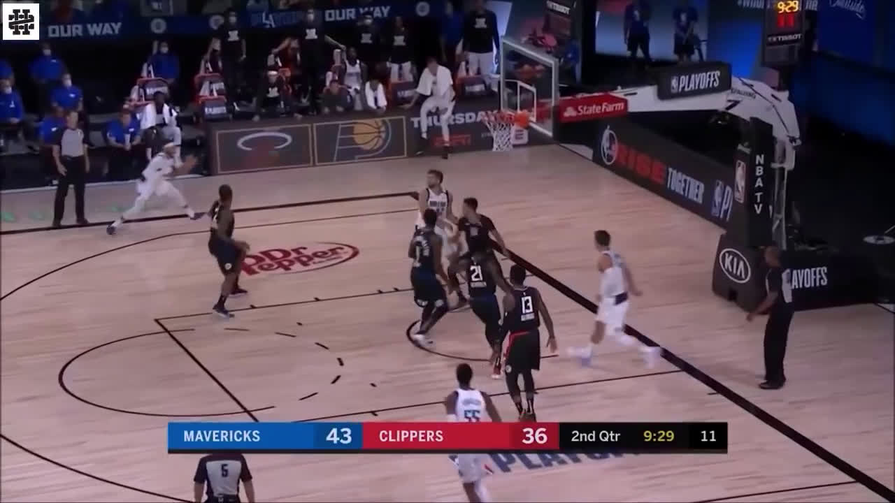 Luka with the insane vision and bullet pass!