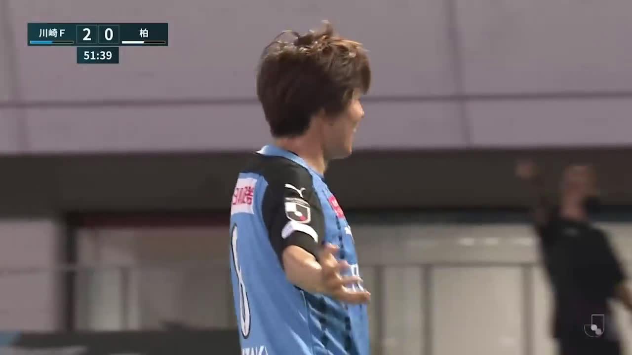Kawasaki Frontale (3)-0 Kashiwa Reysol - Leandro Damiao