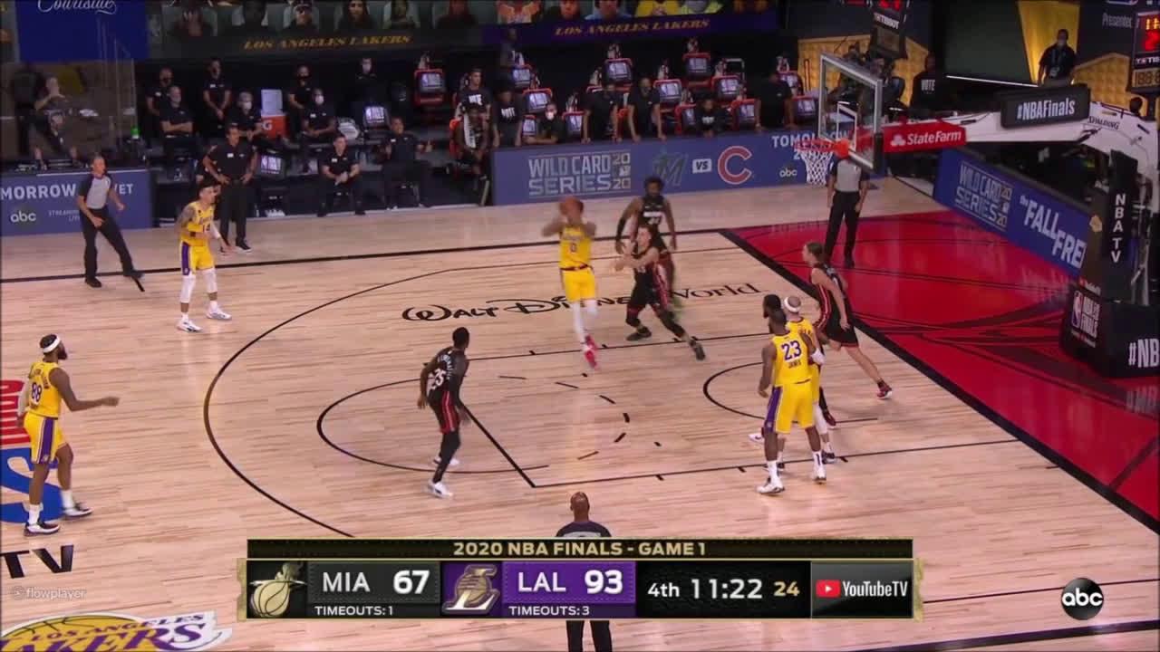 [Highlight] Kyle Kuzma with a brilliant sequence