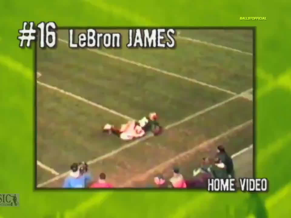 A story about lebron james freshman year in HS leading his team