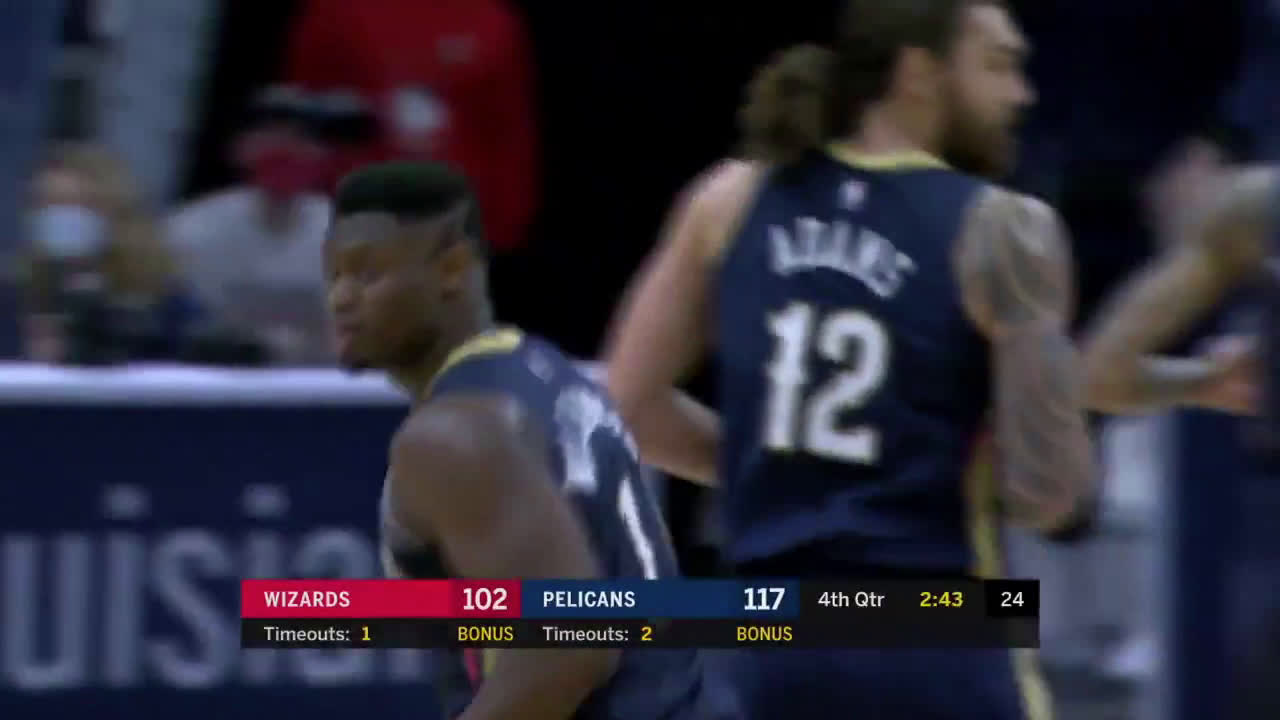 [Highlight] Brandon with the lob to Zion against the Wiz Kids