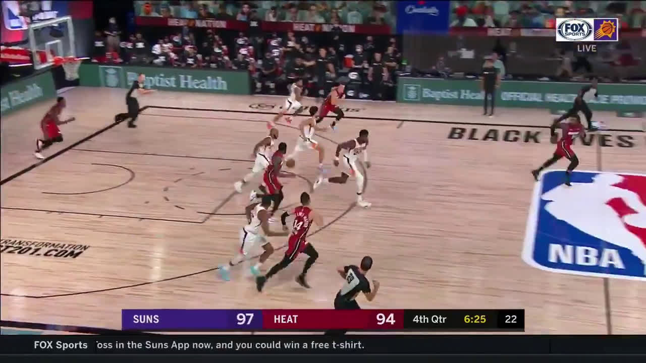 [Highlight] Jevon Carter strips Adebayo, leads the fast break, and feeds a driving Ayton