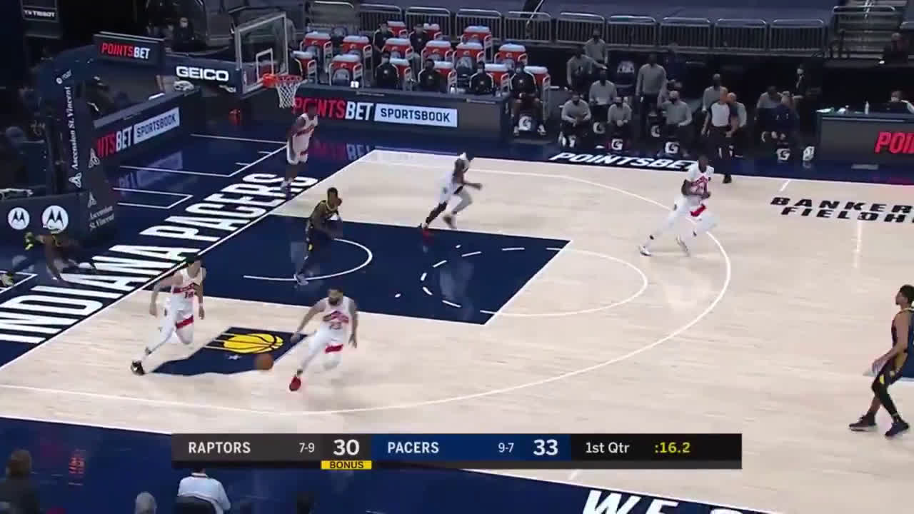 [Highlight] Stanley Johnson blocks Holliday
