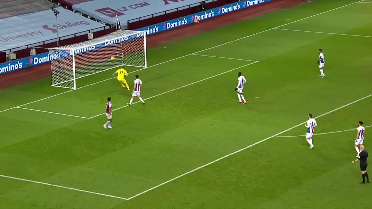 [Highlight] Grealish pass to Watkins vs Crystal Palace