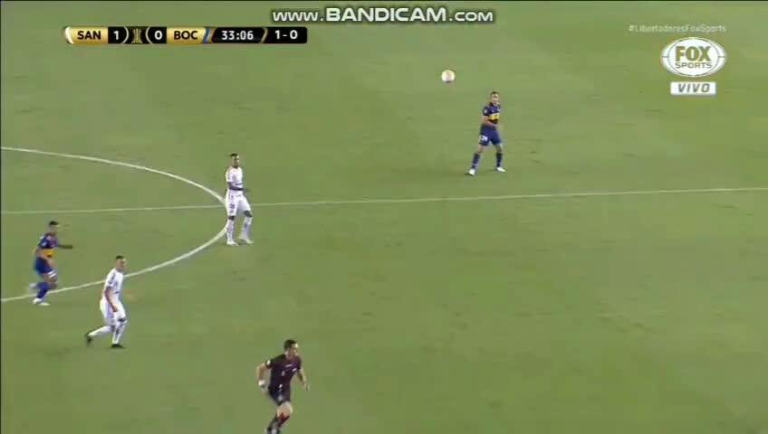 [Santos x Boca Jrs] L. Verissimo head injury