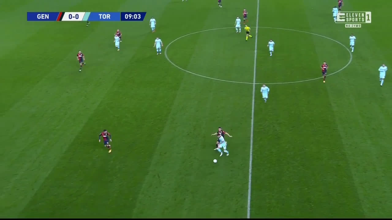 Genoa 0-1 Torino - Saša Lukić 10'