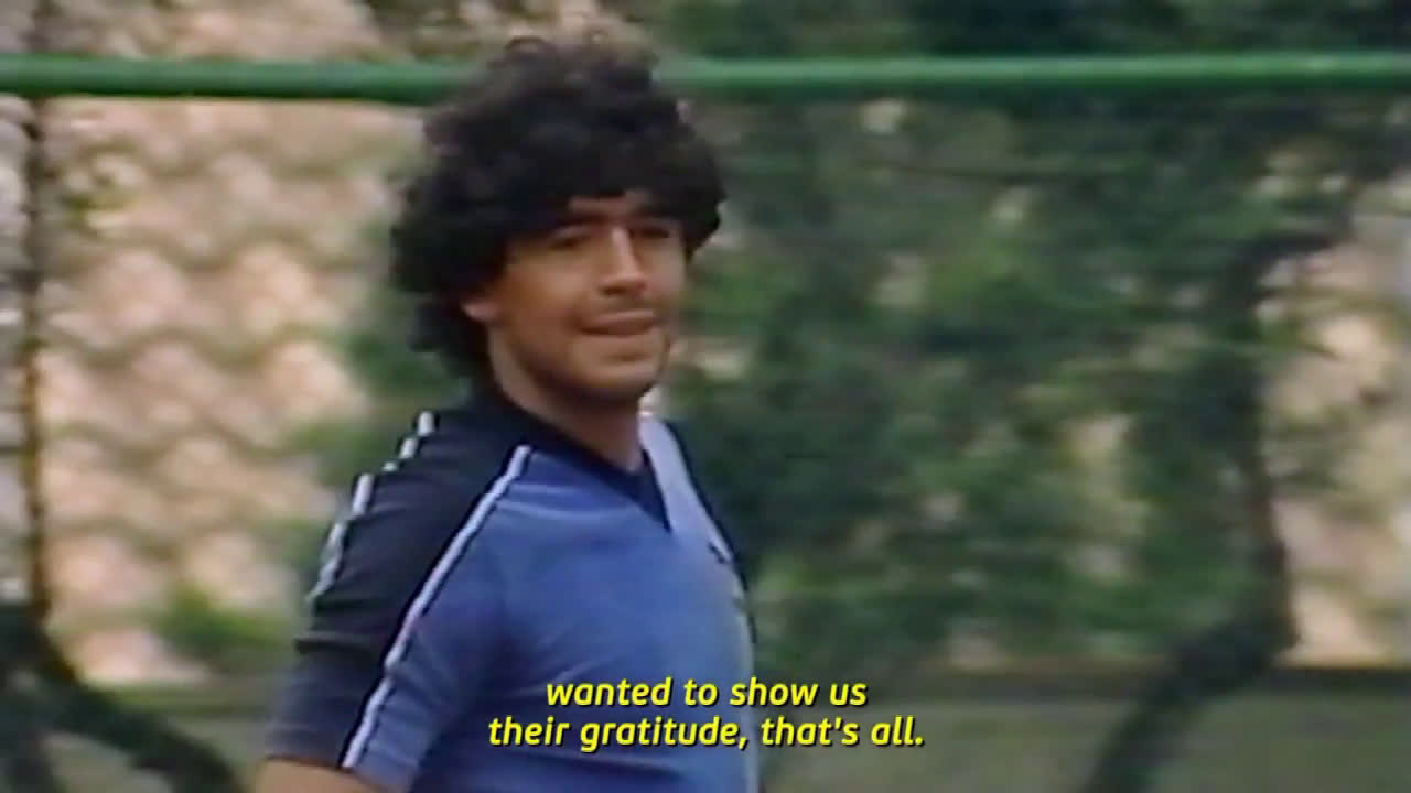 Maradona slides and wins Wimbledon on clay