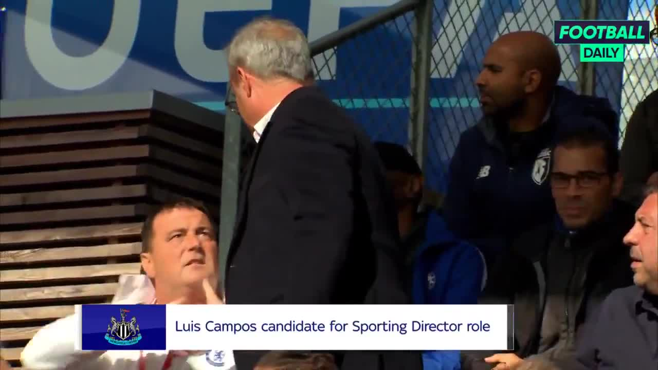 Luis Campos is a candidate for Newcastle's new Sporting Director