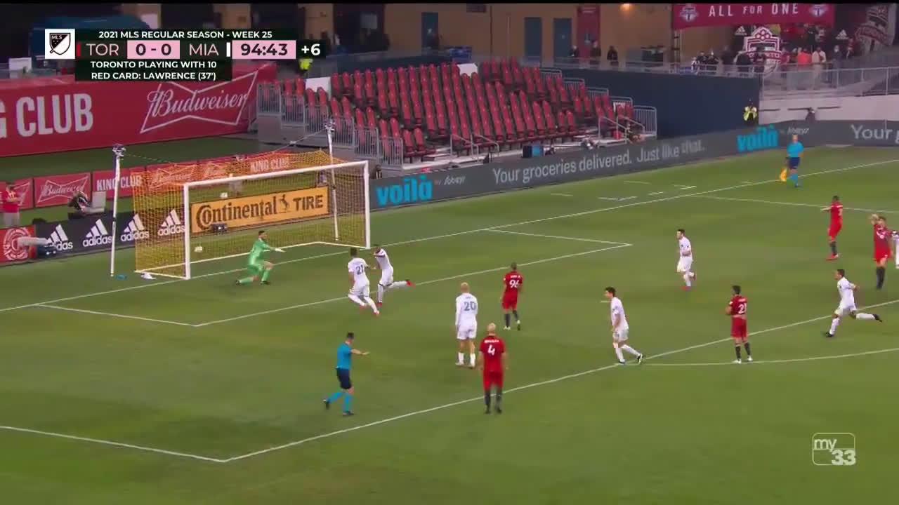 Toronto FC 0 - [1] Inter Miami - Christian Makoun 90+5' (P)